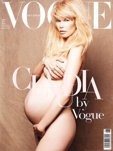 claudia-schiffer-pregnant-vogue-germany-june-2010-cover
